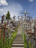 Hill of Crosses  Siauliai  Central Lithuania  Lithuania