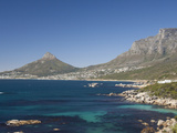 Camps Bay and Clifton Area  View of the Backside of Lion's Head  Cape Town  South Africa