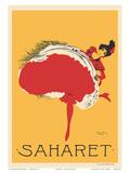 Saharet - Dance Performance Advertisement  c1902