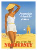Nordseeneilbad Norderney Resort: Always a Wonderful Experience  c1949