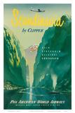 Pan American: Scandinavia by Clipper  c1951