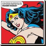 Wonder Woman-Quote Tableau sur toile