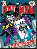 Batman-Joker's Back In Town Tableau sur toile