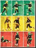 Bob Marley-Football Tableau sur toile