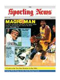 Los Angeles Lakers' Magic Johnson - April 27  1987