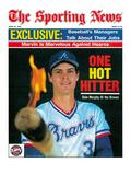 Atlanta Braves OF Dale Murphy - April 29  1985