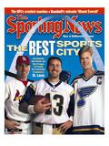 Best Sports City St Louis - Jim Edmonds  Chris Pronger and Kurt Warner - August 14  2000