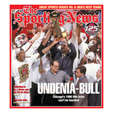 1996 NBA Champion Chicago Bulls - SN125 - June 20  2011