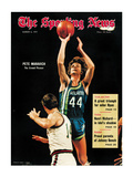Atlanta Hawks Pete Maravich - March 6  1971