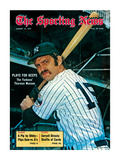 New York Yankees Catcher Thurman Munson - August 18  1973
