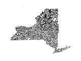 Typographic New York