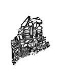 Typographic Maine