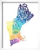 Typographic New England Spring