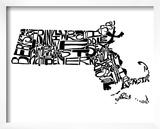 Typographic Massachusetts