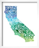 Typographic California Cool