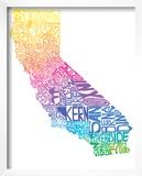 Typographic California Spring