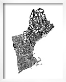 Typographic New England