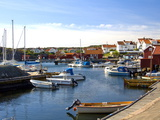 Harbour  Halleviksstrand  Stocken  Orust Island  West Gotaland  Sweden  Scandinavia  Europe
