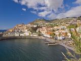 The Small South Coast Harbour of Camara De Lobos  Madeira  Portugal  Atlantic  Europe
