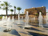 Emirates Palace Hotel  Abu Dhabi  United Arab Emirates  Middle East
