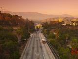 Route 110  Los Angeles  California  USA