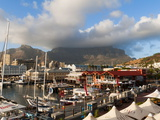 V & a Waterfront With Table Mountain in Background  Cape Town  South Africa  Africa