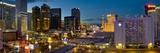 Night Panorama  the Strip  Las Vegas  Nevada  United States of America  North America