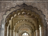 The Arches of Diwan-I-Aam  Red Fort  Old Delhi  India  Asia