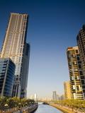 Al Qasba Canal  Sharjah  United Arab Emirates  Middle East