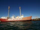 Nantucket Light Ship  Boston Harbour  Boston  Massachusetts  New England  USA