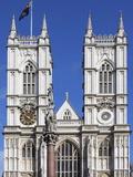 Westminster Abbey  UNESCO World Heritage Site  London  England  United Kingdom  Europe