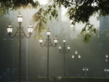 Street Lamps  Buenos Aires  Argentina  South America
