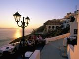 Fira  Island of Santorini (Thira)  Cyclades Islands  Aegean  Greek Islands  Greece  Europe