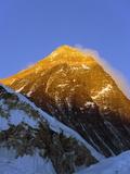 Sunset on Mount Everest  8850M  Solu Khumbu Everest Region  Sagarmatha National Park  Himalayas