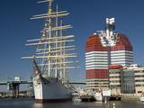 Barque the Viking and Gotheborgsutkiken  Gothenburg  Sweden  Scandinavia  Europe