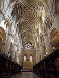 Christ Church Cathedral Interior  Oxford University  Oxford  England