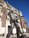 Statue of Elvis Presley in Shreveport  Louisiana  United States of America  North America