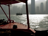 Star Ferry Harbour  Hong Kong  China  Asia