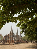 Wat Phra Si Sanphet  Ayutthaya  UNESCO World Heritage Site  Ayutthaya Province  Thailand