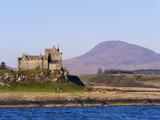 Duart Castle  Isle of Mull  Inner Hebrides  Scotland  Uk