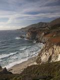 Rocky Shoreline South of Carmel  California  United States of America  North America
