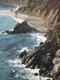 Rocky Stretch of Coastline in Big Sur  California  United States of America  North America