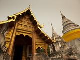 Wat Phra Singh  Chiang Mai  Chiang Mai Province  Thailand  Southeast Asia  Asia