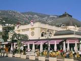 Cafe De Paris  Monte Carlo  Monaco  Cote D'Azur  Mediterranean  Europe