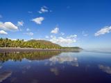Beach at Playa Sihuapilapa  Pacific Coast  El Salvador  Central America