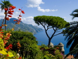 Rufolo View  Ravello  Amalfi Coast  UNESCO World Heritage Site  Campania  Italy  Europe