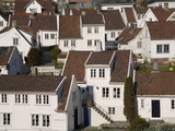 Old Town (Gamlebyen)  Stavanger  Rogaland  Norway  Scandinavia  Europe