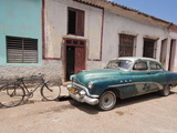 Old 1950S Car  Remedios  Cuba  West Indies  Central America
