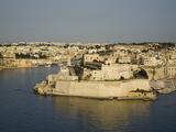 Vittoriosa  Harbour in Malta  Mediterranean  Europe