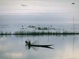 Fisherman  Inle Lake  Shan State  Myanmar (Burma)  Asia
